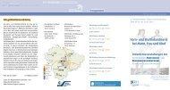 Programmflyer - Klinikum Region Hannover GmbH