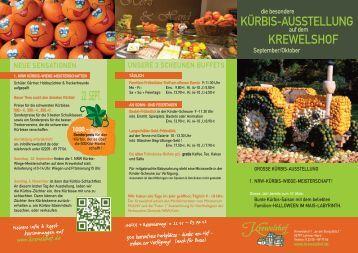 Kürbis Ausstellung - Krewelshof