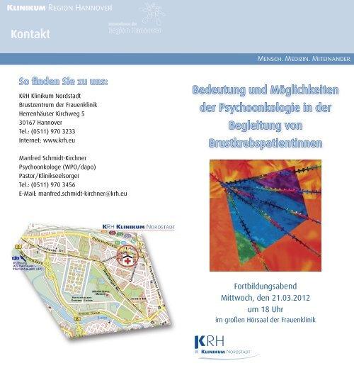 Kontakt - Klinikum Region Hannover GmbH