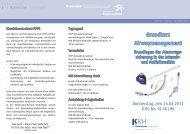 Grundkurs Airwaymanagement - Klinikum Region Hannover GmbH