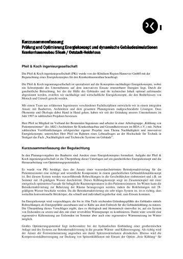Kurzgutachten Energiekonzept.pdf - Klinikum Region Hannover GmbH