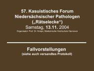 Hepatoide Adeno-Carcinome des Magens - Klinikum Region Hannover GmbH