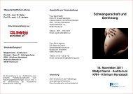 Programm Nordstadt Gyn 18 11 11x - Klinikum Region Hannover ...