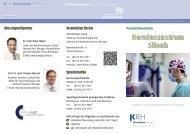 Hernienzentrum Siloah - Klinikum Region Hannover GmbH