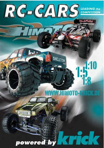 Himoto RC Cars powered by krick 2009