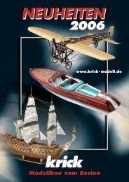 Neuheitenprospekt 2006 im PDF-Format - Krick