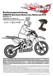 Anleitung HIMOTO MX400 Motorrad als PDF Datei. - Krick