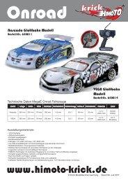 MegaE 4WD Onroad Chassis EP 1:10 Nascada - Krick