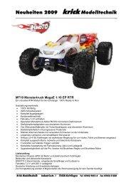 Himoto MT10 Monstertruck Produktinfo als PDF Datei. - Krick