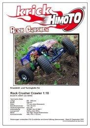 Rock Crusher Crawler 1:10 - Krick