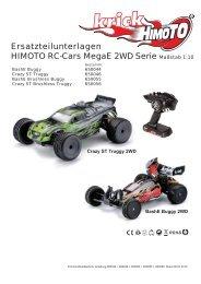 Crazy ST Truggy 2WD MegaE 1:10 - Krick
