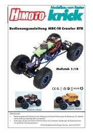 MRC-18 Crawler • 650004 - Krick