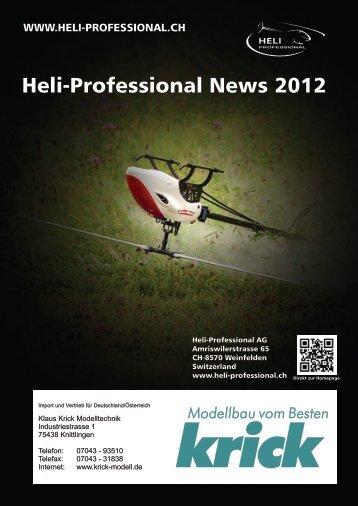 Helikopter und Zubehör von Heli Professional by Krick Modelltechnik