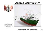 Bebilderte Bauanleitung von Billing Boats als PDF-Datei - Krick