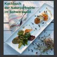 Kochbuch der Naturparkwirte im Schwarzwald ... - Fotodesign Krieg