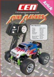 Mini Madness: 1/16 Ferngesteuerter Monster-Truck - Krick