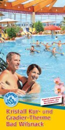 Flyer der Therme - Therme Bad Wilsnack
