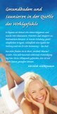 Flyer der Therme - Therme Bad Wilsnack - Seite 2