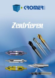 Katalog Zentrieren - Kromer GmbH
