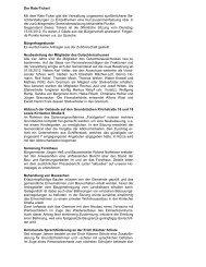 Der Rats-Ticker! - Gemeinde Kronau