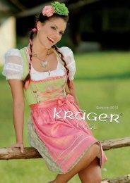 Krüger Dirndl - Madl Kollektion F/S 2012 im Dirndl Shop