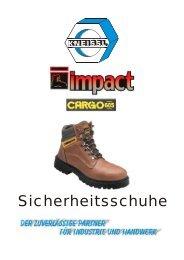 Sicherheitsschuhe - Franz Kneissl Industriebedarf