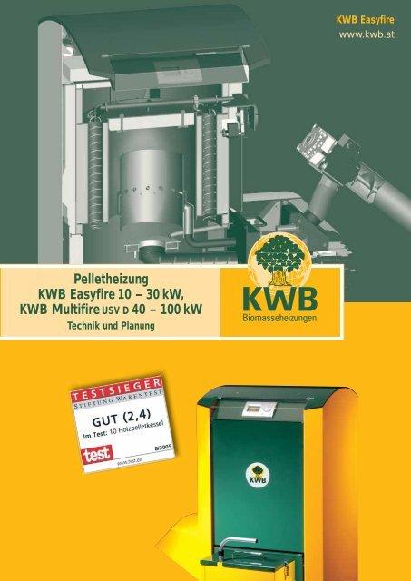 Pelletheizung KWB Easyfire 10 – 30 kW, KWB  ... - Kruse GmbH