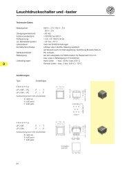 Leuchtdruckschalter und -taster - Knitter-Switch