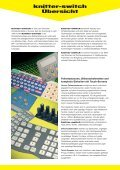 Prospekt Keypads_DE 2011_TastaturenBrosch¸re - Knitter-Switch - Seite 2