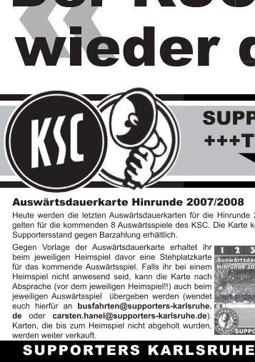 blockschrift 1 - Karlsruher SC