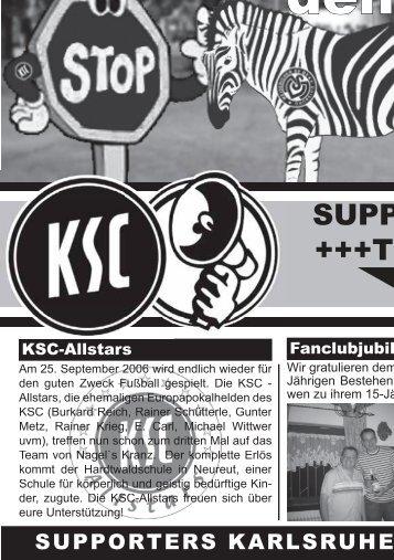Zurück in den Zoo! - Karlsruher SC