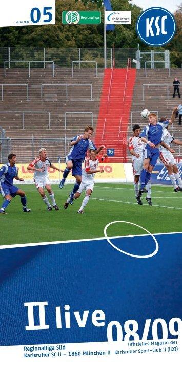Regionalliga Süd Karlsruher SC II