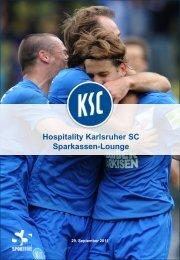 Sparkassen-Lounge - Karlsruher SC