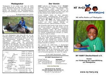 Flyer Deutsch (5.Aufl. 09-2009) - NY HARY