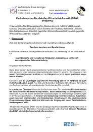 Kaufmännische Schule Hechingen Kaufmännisches Berufskolleg ...