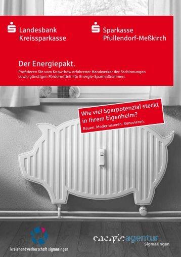 Der Energiepakt. - Kreishandwerkerschaft Sigmaringen