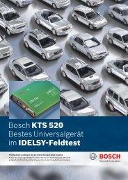 Bosch KTS 520 Testsieger Dekra - Rösner KFZ Werkzeuge