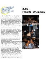 2009 - Freaktal Drum Day - Freaktal Drum School & Shop