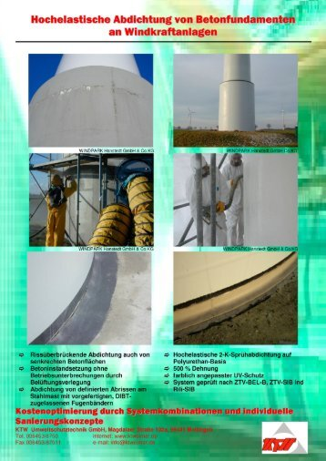 Infoblatt 02 Fundamente Windkraftanlagen - KTWeimar