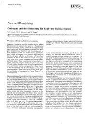Onkogene und ihere Bedeutung für Kopf- und Halskarzinome