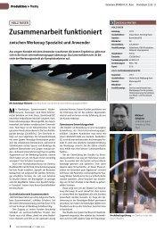 Bericht Holzkurier 03.2008 (.pdf) - Kock Werkzeugtechnik