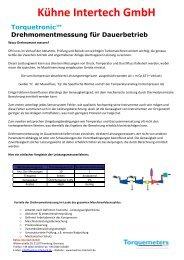 Torquemeters - WHY _DE_ - Kühne Intertech GmbH