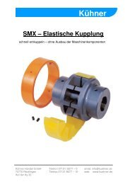 Elastische Kupplung - Kühner Handel GmbH
