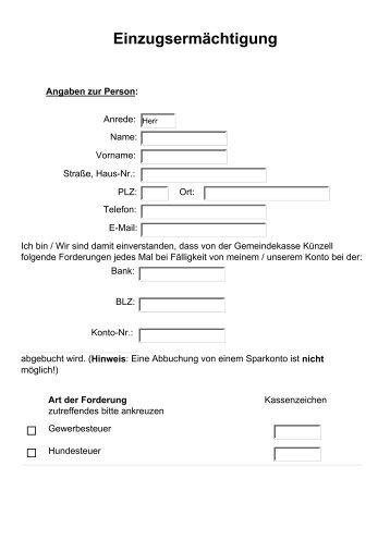 Formular als PDF-Dokument herunterladen