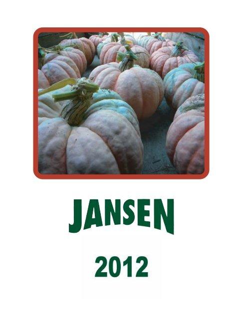 Kürbissamen 2012 Zaadhandel Jansen  B.V. PDF-Datei (72