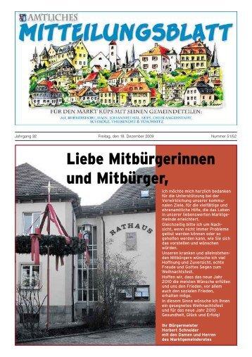 Ausgabe Nr. 51+52 / 2009 - Markt Küps