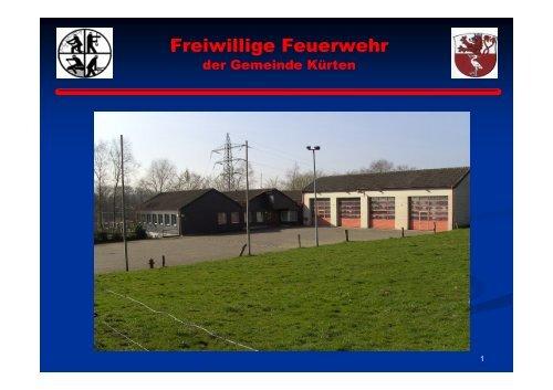 Freiwillige Feuerwehr - Gemeinde Kürten