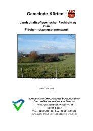 LFB (Textfassung) - Gemeinde Kürten