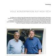 S.a.r.l. Kugel: Volle Konzentration auf High-Tech
