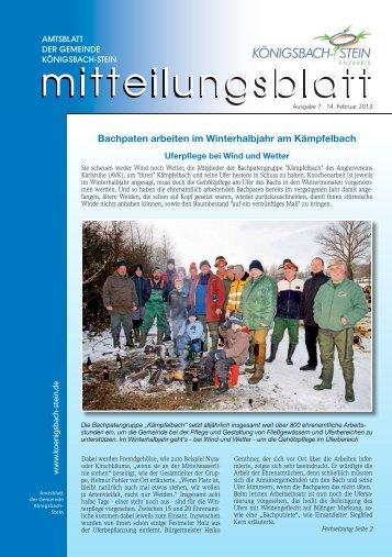Koenigsbach-Stein KW 07 ID 65428 - Gemeinde Königsbach-Stein